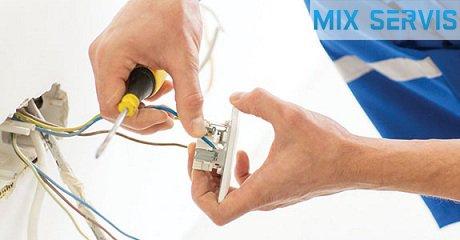 Услуги электрика в Киеве MIX-SERVIS