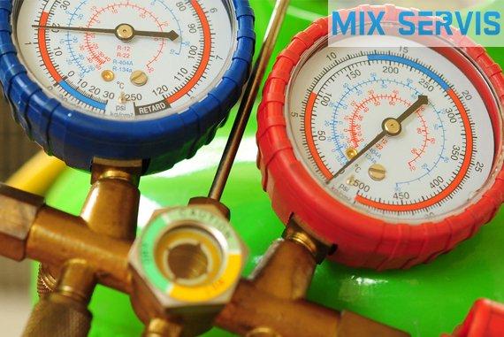 заправка кондиционера MIX-SERVIS