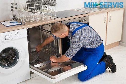 подключение посудомоечной машины MIX-SERVIS